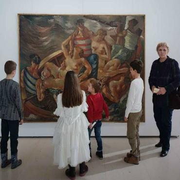 Poseta Muzeju savremene umetnosti